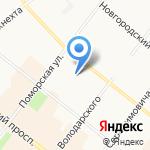 Центр пародонтологии и имплантации на карте Архангельска