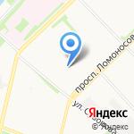 Золотая рыбка на карте Архангельска