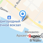 Двинско-Печорское бассейновое водное управление Федерального агентства водных ресурсов на карте Архангельска