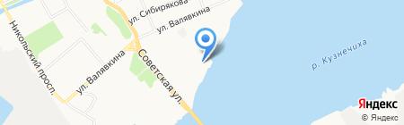 ДЮСШ №3 по гребле на байдарках и каноэ на карте Архангельска