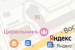 Схема проезда до компании Миндаль в Архангельске