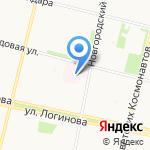 Специализированный дом ребенка для детей с поражением центральной нервной системы и нарушением психики на карте Архангельска