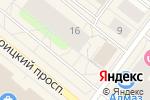 Схема проезда до компании Банкомат, Банк Финансовая корпорация Открытие, ПАО в Архангельске