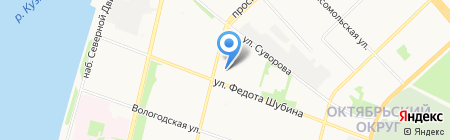 Vodnik.PRO на карте Архангельска