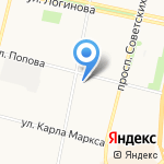 Государственное юридическое бюро Архангельской области на карте Архангельска
