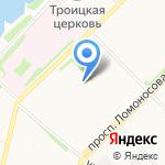 Зодчий-1 на карте Архангельска