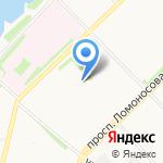 Держава на карте Архангельска