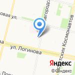 Служба скорой санитарной помощи на карте Архангельска