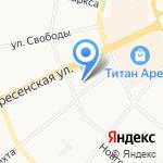 КБ Айманибанк на карте Архангельска