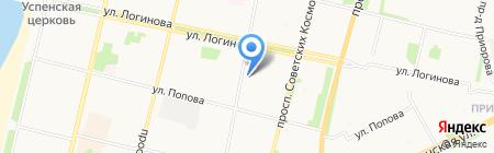 Изюминка на карте Архангельска