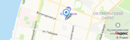 Oriflame на карте Архангельска