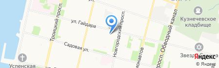 Детский сад №31 Ивушка на карте Архангельска