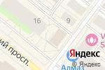 Схема проезда до компании Росприроднадзор в Архангельске