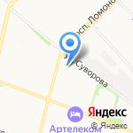 Всё для хоккея на карте Архангельска