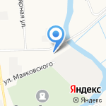 Техномор на карте Архангельска