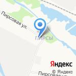 Почтовое отделение связи №50 на карте Архангельска
