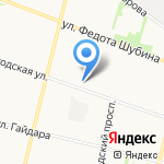 Золотые ручки на карте Архангельска