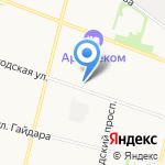 Феллини на карте Архангельска