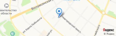 Домер ПК на карте Архангельска