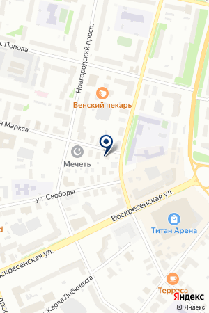 Дербин и партнеры на карте Архангельска