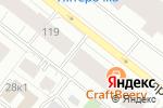Схема проезда до компании Пицца Хаус в Архангельске