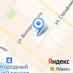 АртАнгельск на карте Архангельска