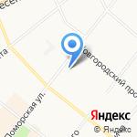 КИРА на карте Архангельска