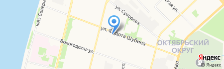 YULSUN.RU на карте Архангельска