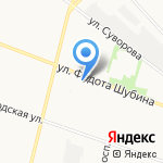 Элисс Мебель на карте Архангельска