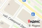 Схема проезда до компании LifeStyle в Архангельске