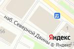 Схема проезда до компании Superburg в Архангельске