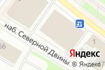Схема проезда до компании Батут CITY в Архангельске