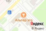 Схема проезда до компании Африка в Архангельске