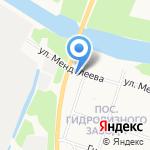 Нона на карте Архангельска