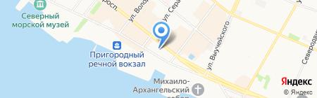Baykar на карте Архангельска