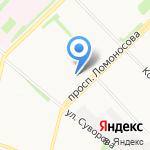 Старiй Тифлисъ на карте Архангельска