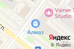 Схема проезда до компании Planita в Архангельске