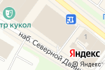 Схема проезда до компании Агат в Архангельске