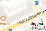 Схема проезда до компании Студия стекла в Архангельске