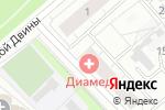 Схема проезда до компании Медиум в Архангельске