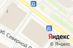 Схема проезда до компании Банкомат, РоссельхозБанк в Архангельске