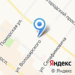 Промнедра на карте Архангельска
