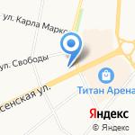 Миндаль на карте Архангельска