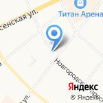 Архангельская Управленческая Компания на карте Архангельска