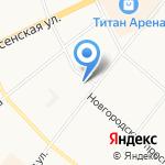 Северлифт на карте Архангельска