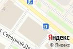 Схема проезда до компании Мастерская по заточке цепей и дисковых пил в Архангельске
