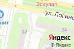 Схема проезда до компании Винлаб в Архангельске