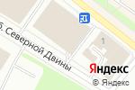 Схема проезда до компании Nila style в Архангельске