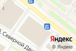 Схема проезда до компании Остров игрушек в Архангельске