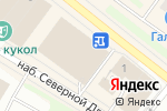 Схема проезда до компании Мир заколок в Архангельске